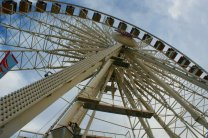 A ferris wheel at the 2011 Arizona State Fair. (Photo/Kendra Yost)